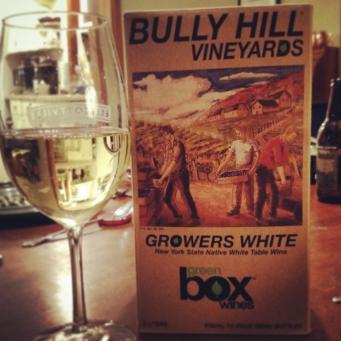 Bully Hill Grower's White
